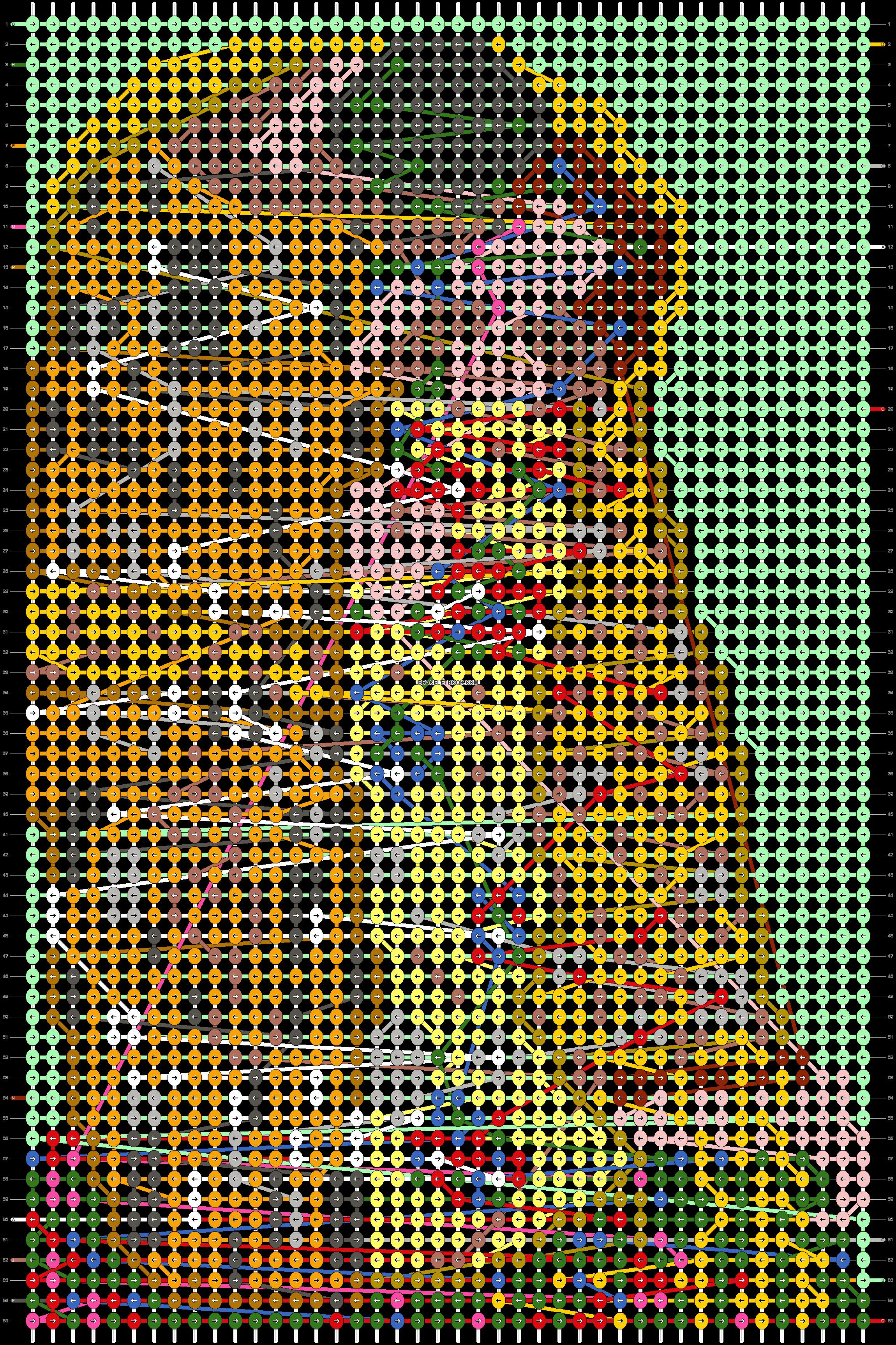 Alpha pattern #97110 pattern