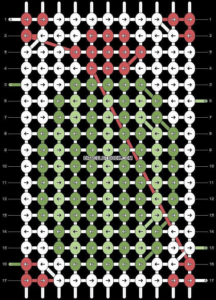 Alpha pattern #97133 pattern