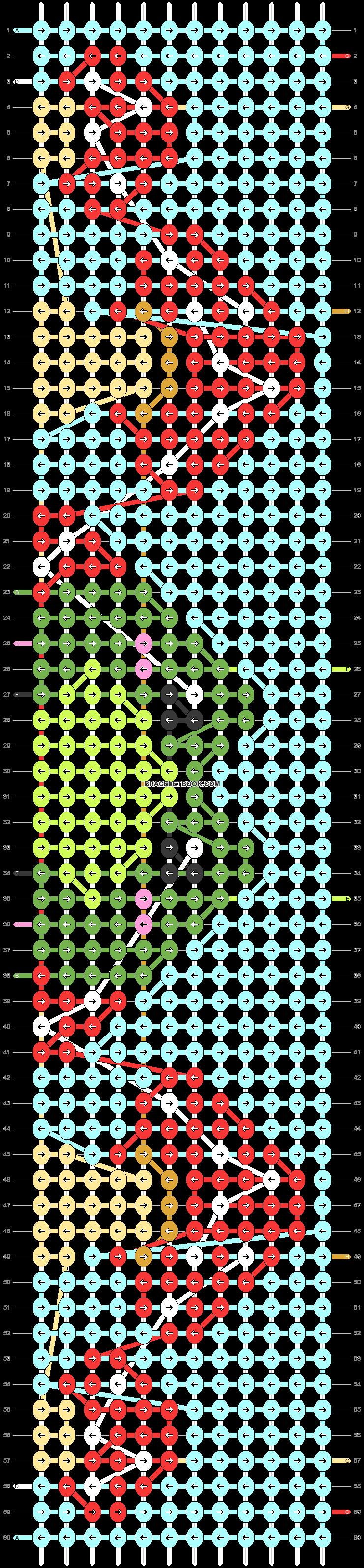 Alpha pattern #97135 pattern
