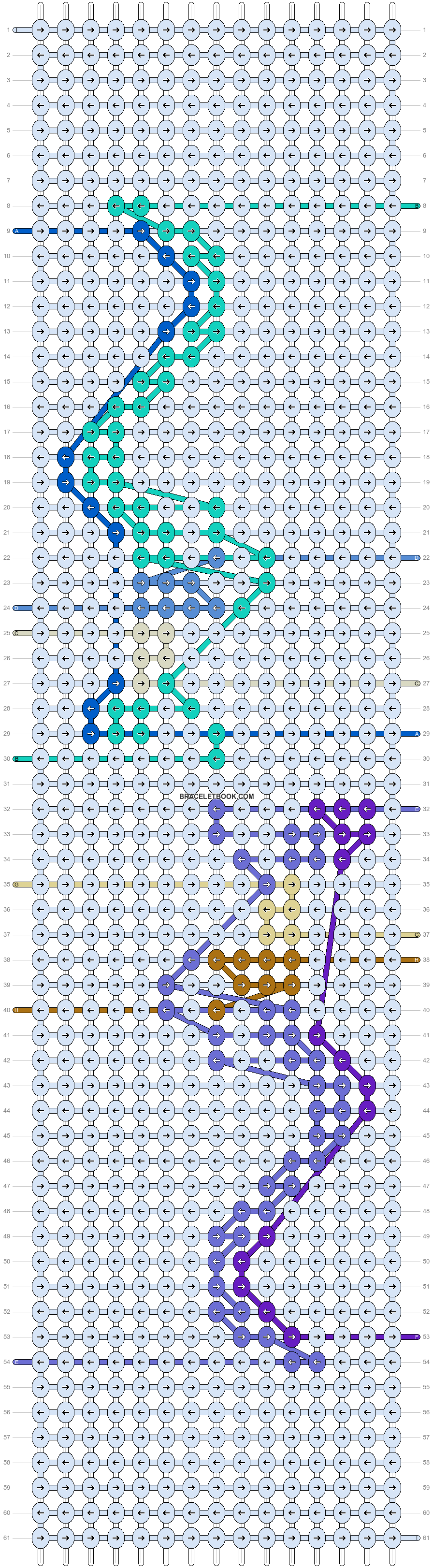 Alpha pattern #97140 pattern
