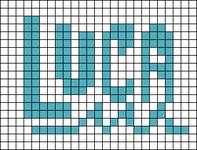Alpha pattern #97165