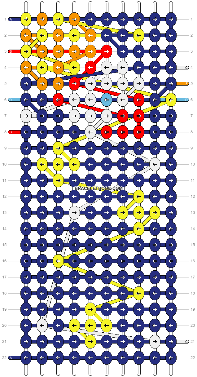 Alpha pattern #97184 pattern