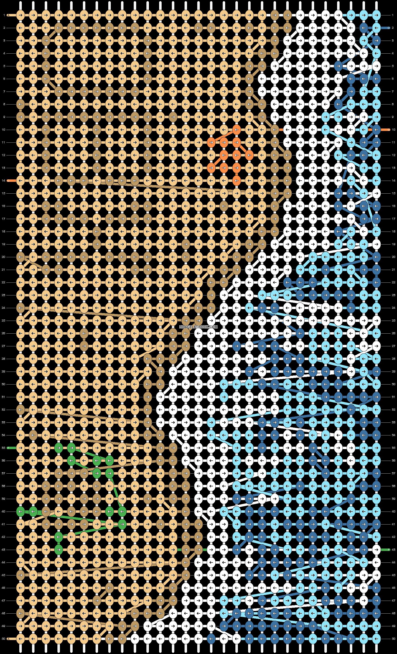Alpha pattern #97185 pattern
