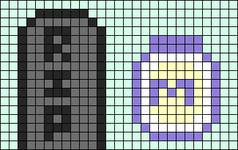 Alpha pattern #97190