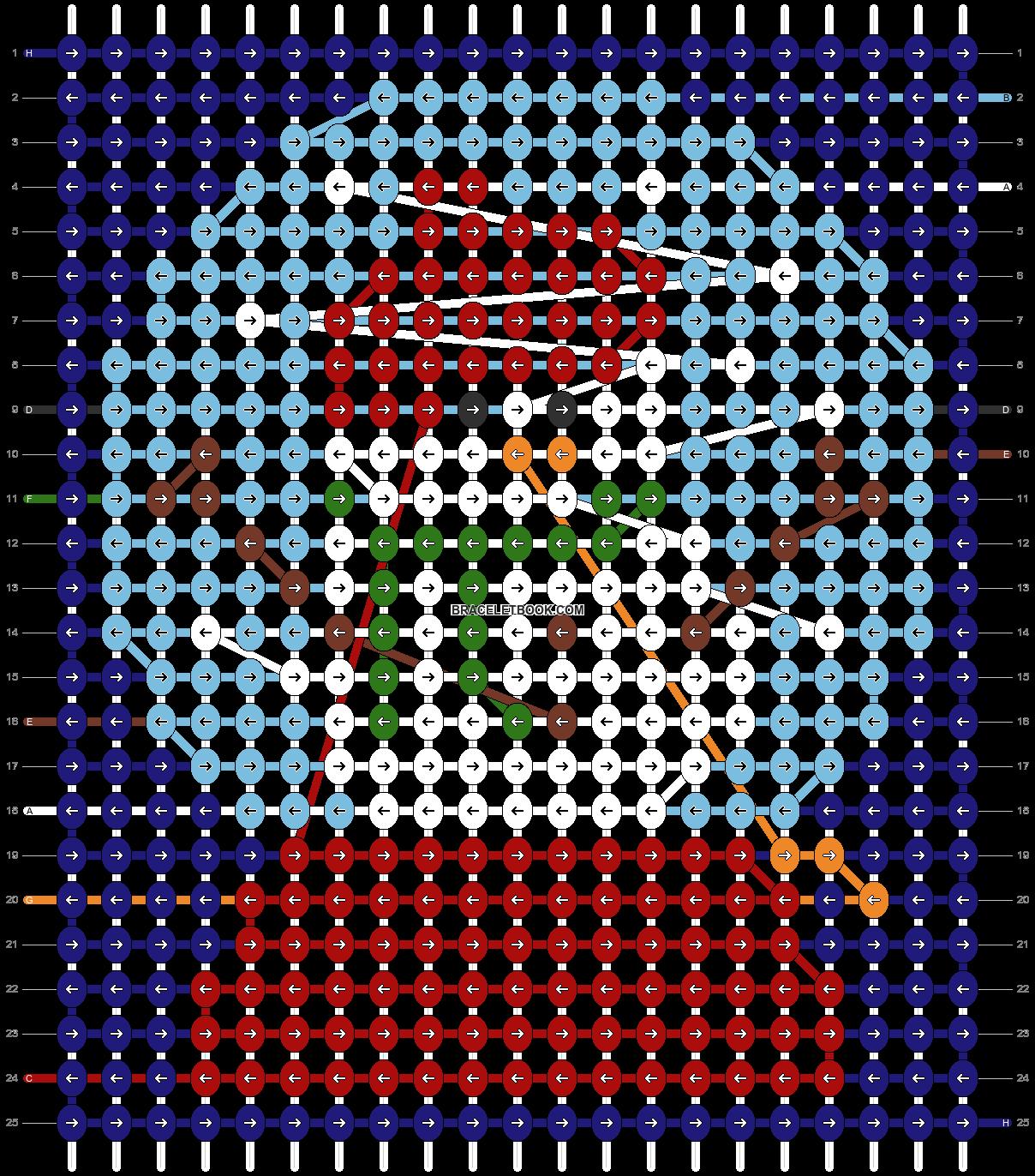 Alpha pattern #97196 pattern