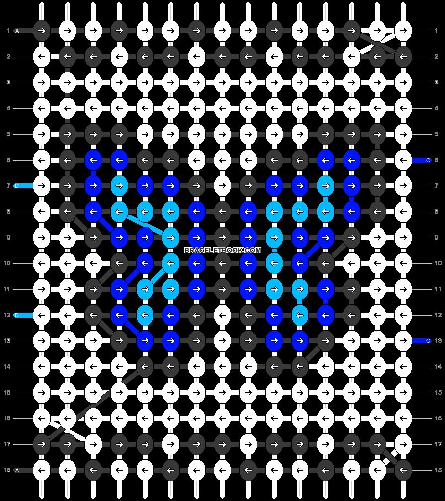 Alpha pattern #97214 pattern