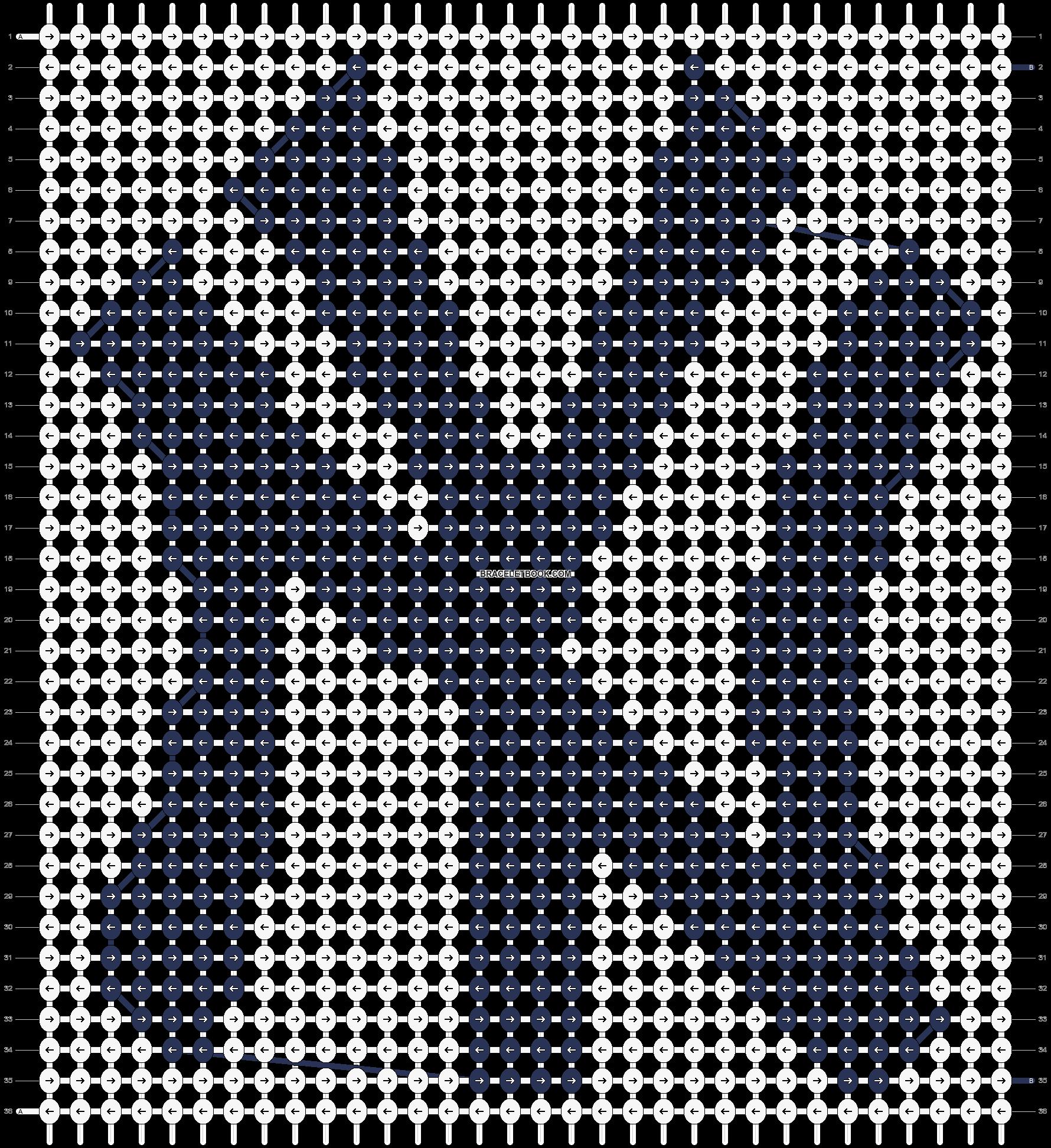Alpha pattern #97218 pattern