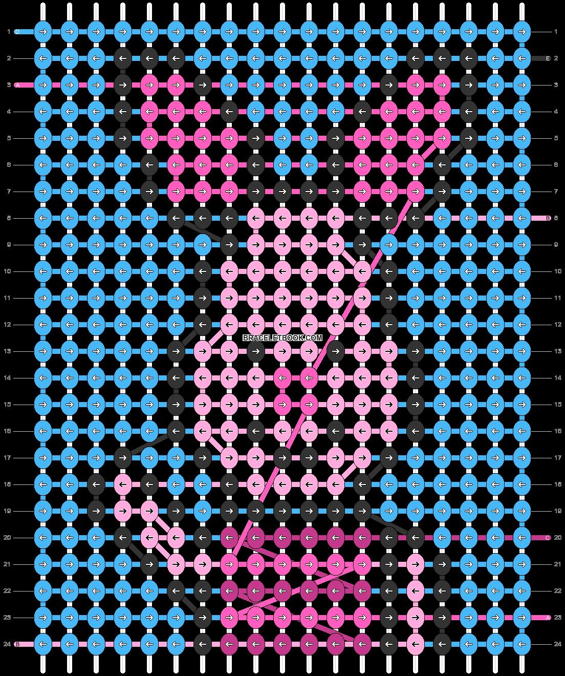 Alpha pattern #97222 pattern