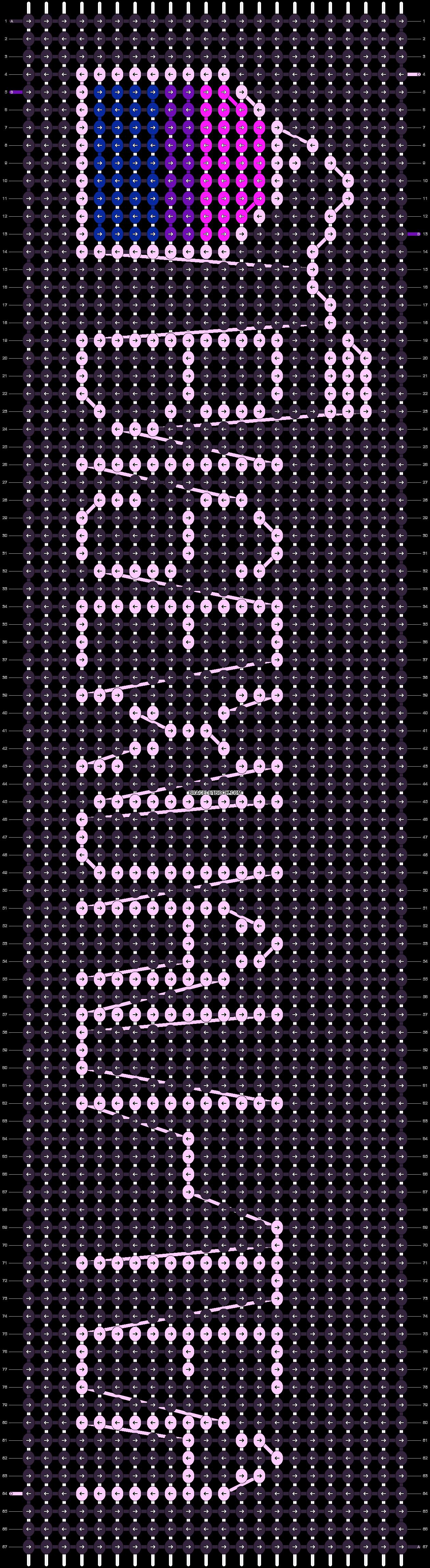 Alpha pattern #97247 pattern