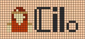 Alpha pattern #97254