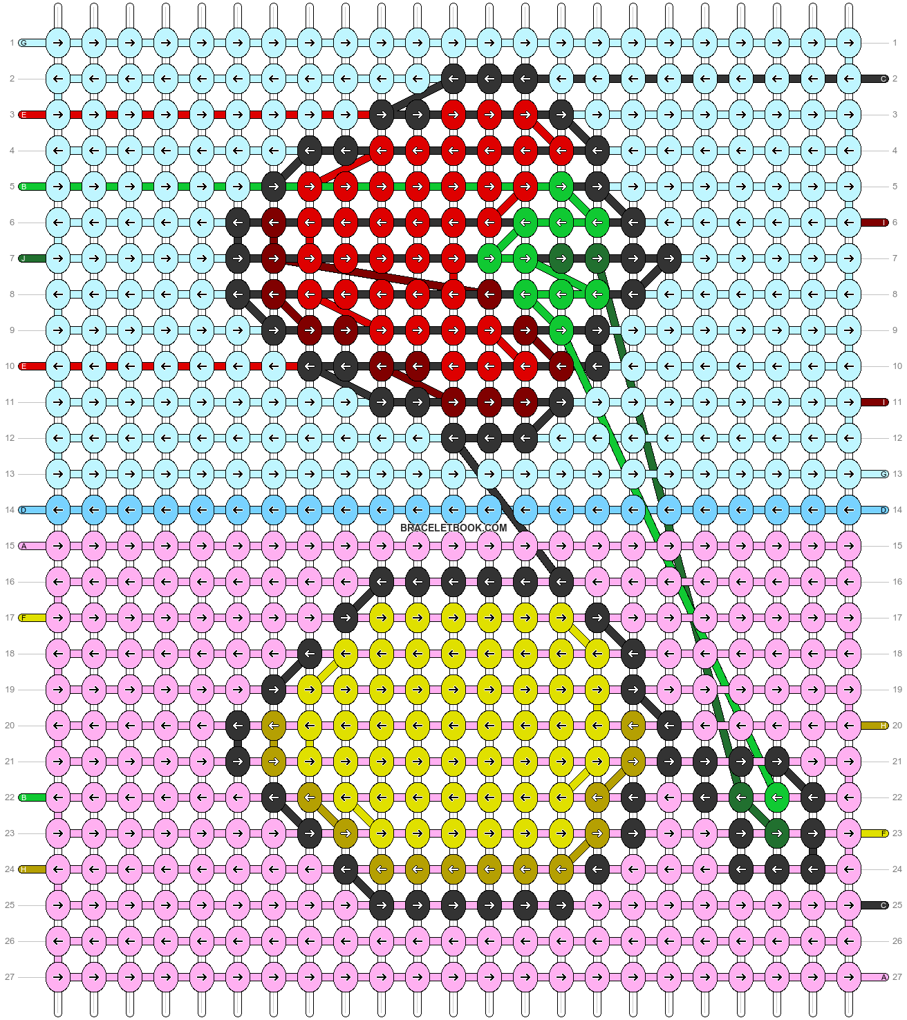 Alpha pattern #97284 pattern