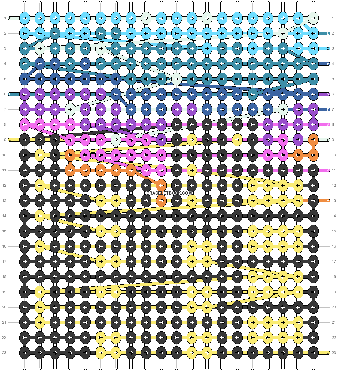 Alpha pattern #97300 pattern