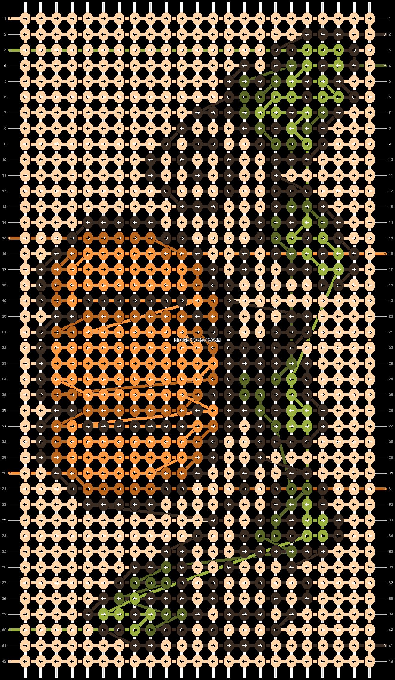 Alpha pattern #97303 pattern