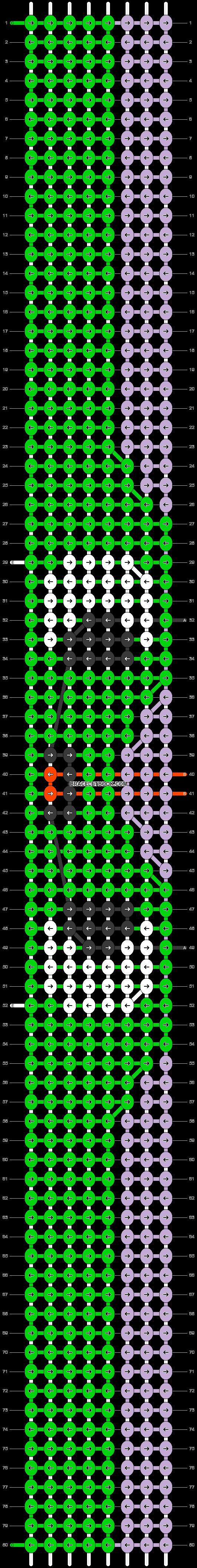Alpha pattern #97348 pattern