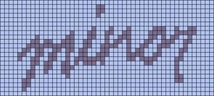 Alpha pattern #97373
