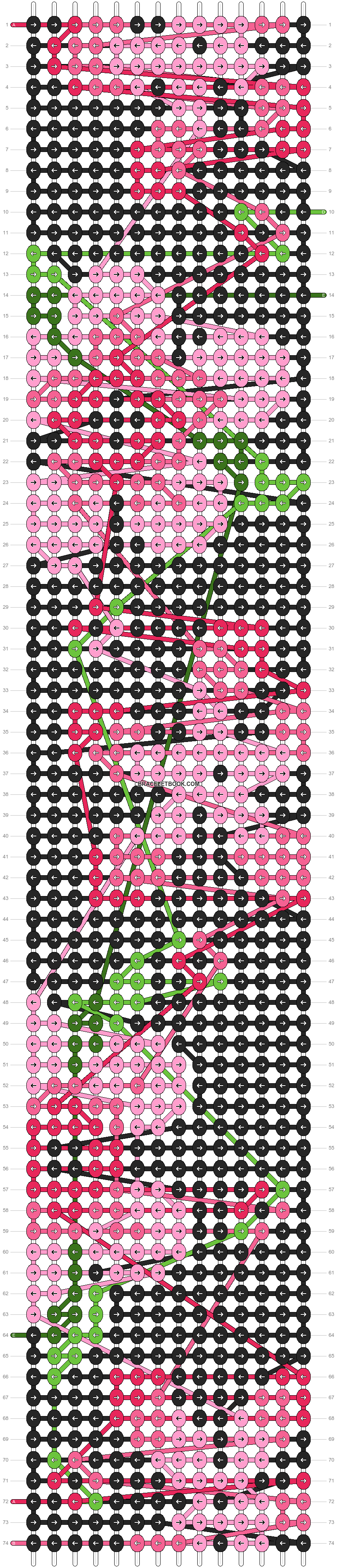 Alpha pattern #97429 pattern