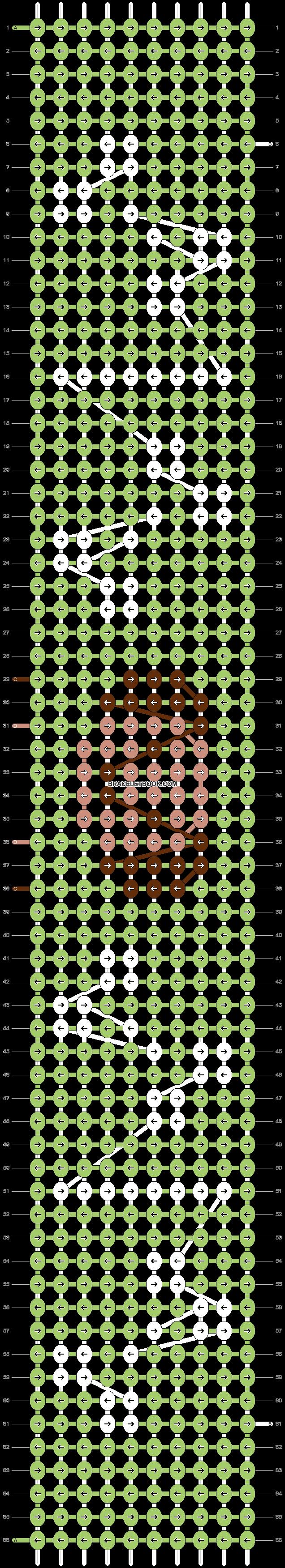 Alpha pattern #97433 pattern