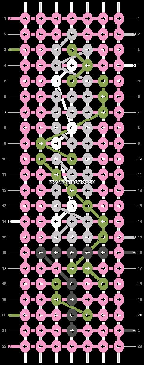 Alpha pattern #97437 pattern