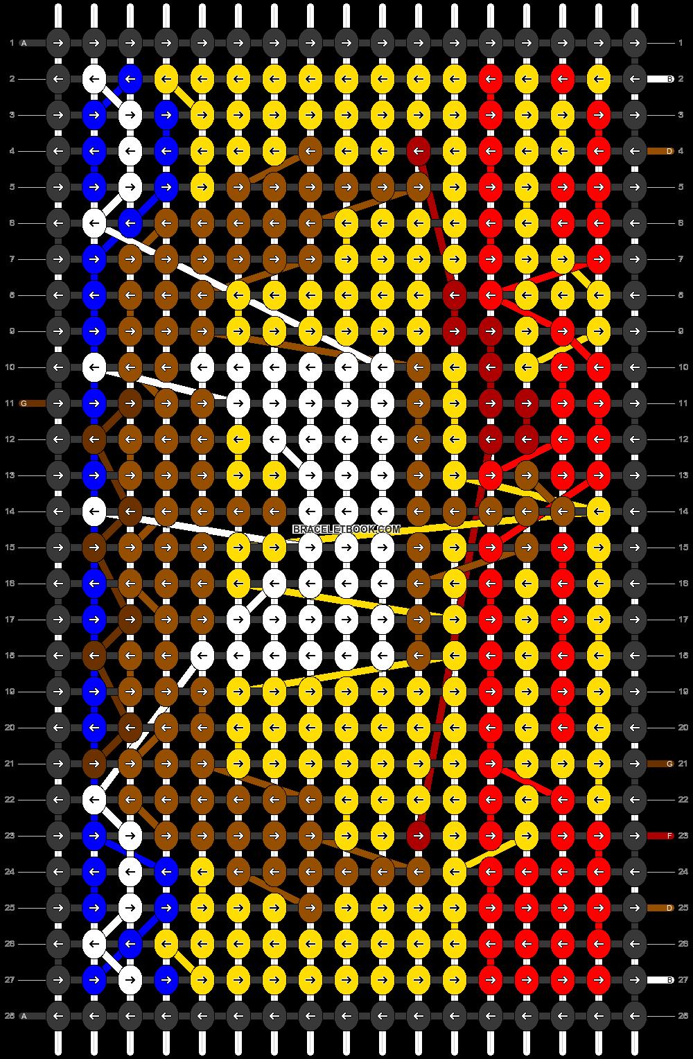 Alpha pattern #97440 pattern