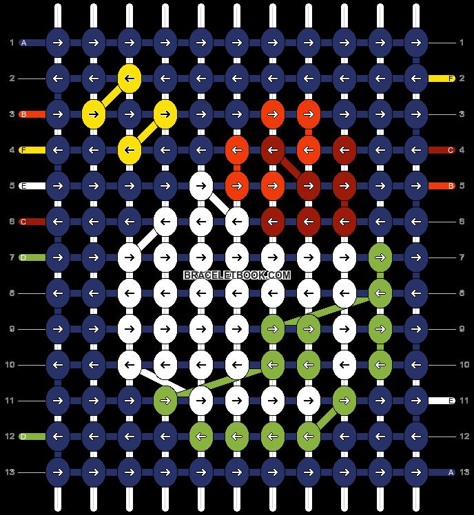 Alpha pattern #97444 pattern