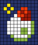 Alpha pattern #97444