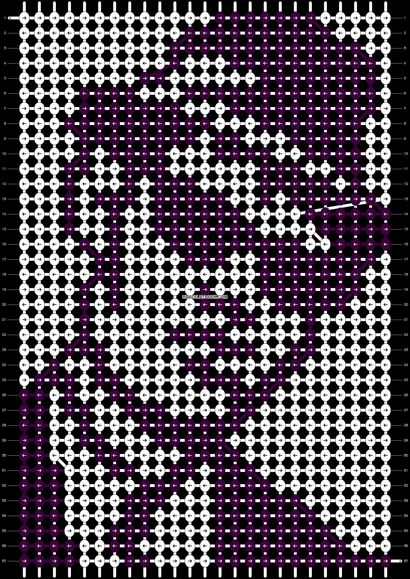 Alpha pattern #97514 pattern