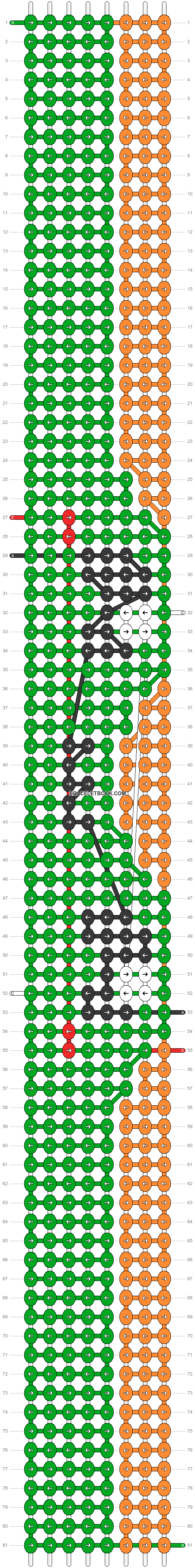 Alpha pattern #97609 pattern