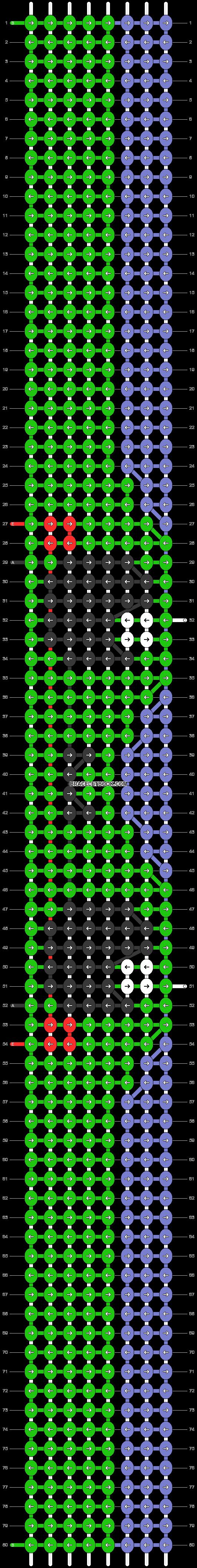 Alpha pattern #97610 pattern
