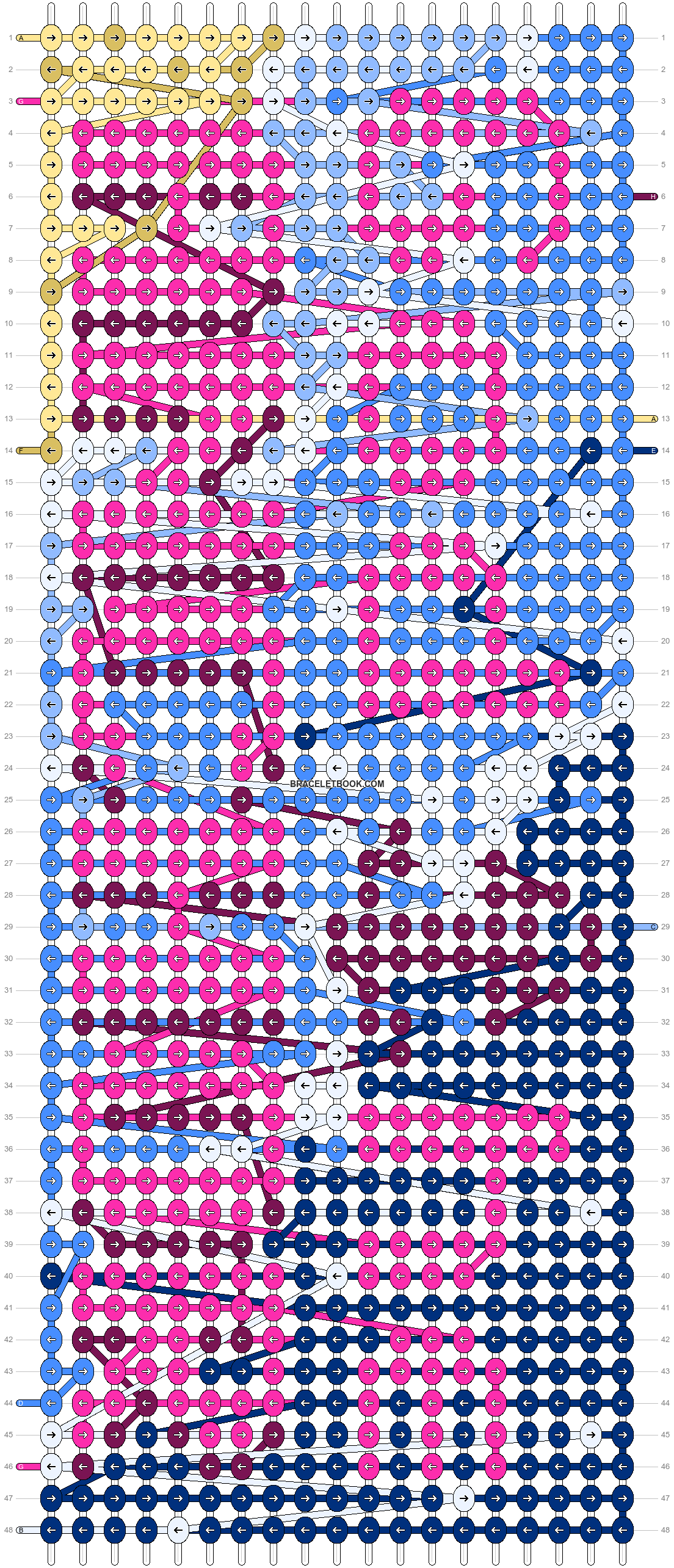 Alpha pattern #97613 pattern