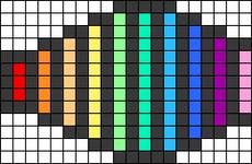 Alpha pattern #97672