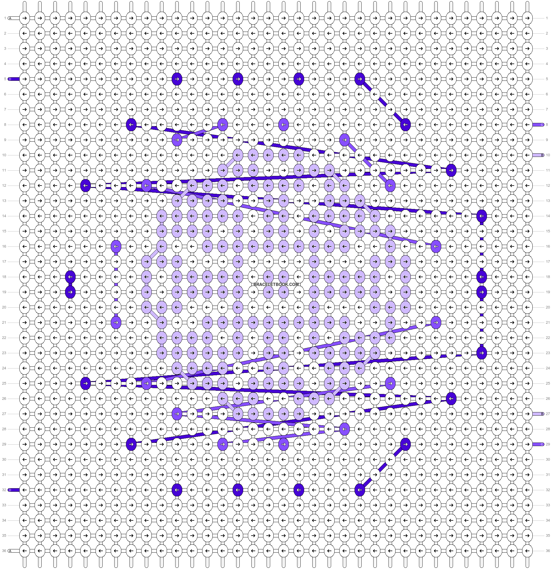 Alpha pattern #97674 pattern
