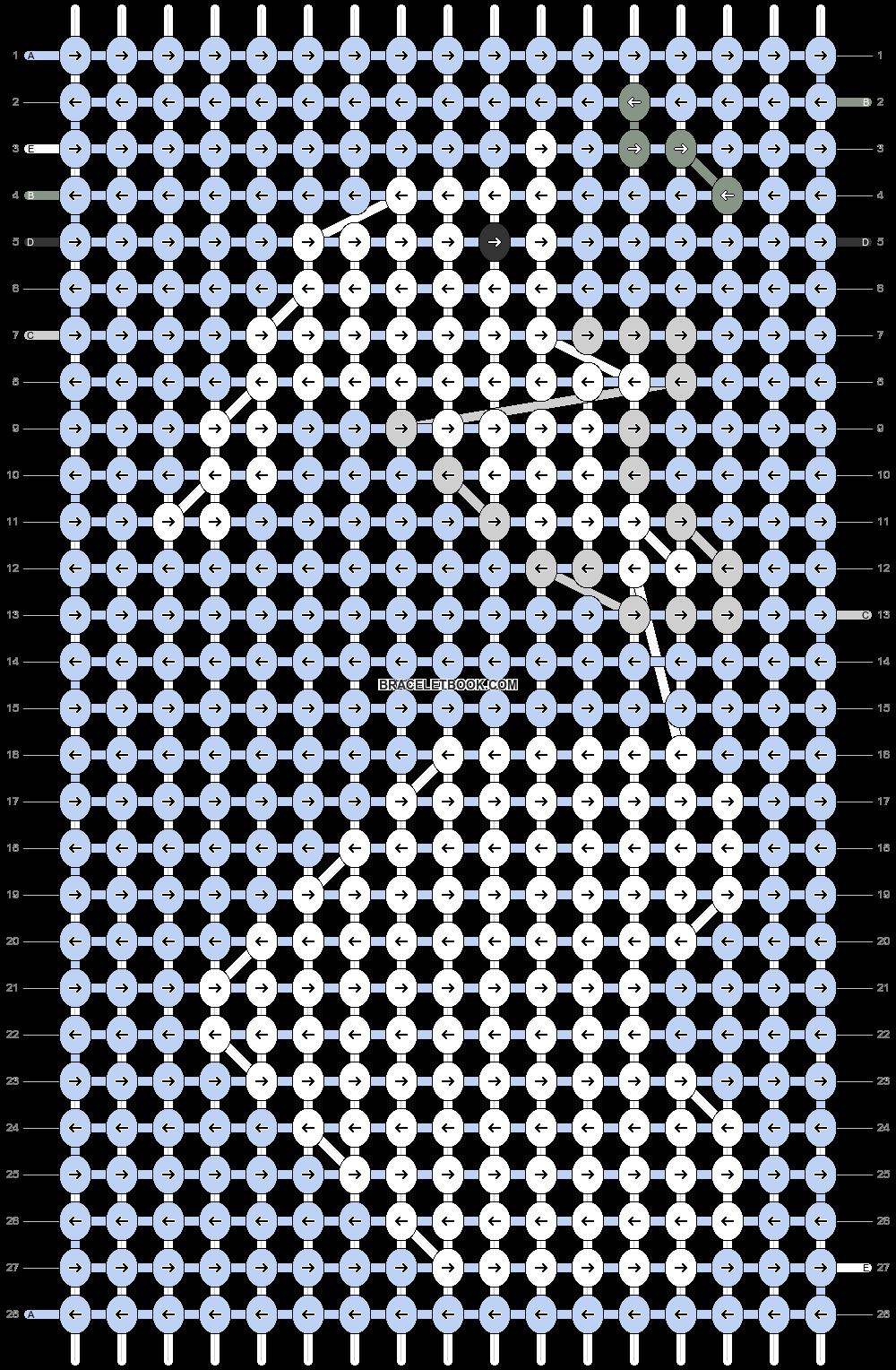 Alpha pattern #97707 pattern