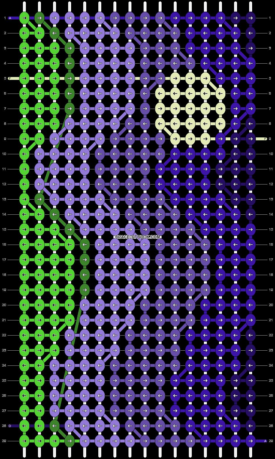 Alpha pattern #97717 pattern