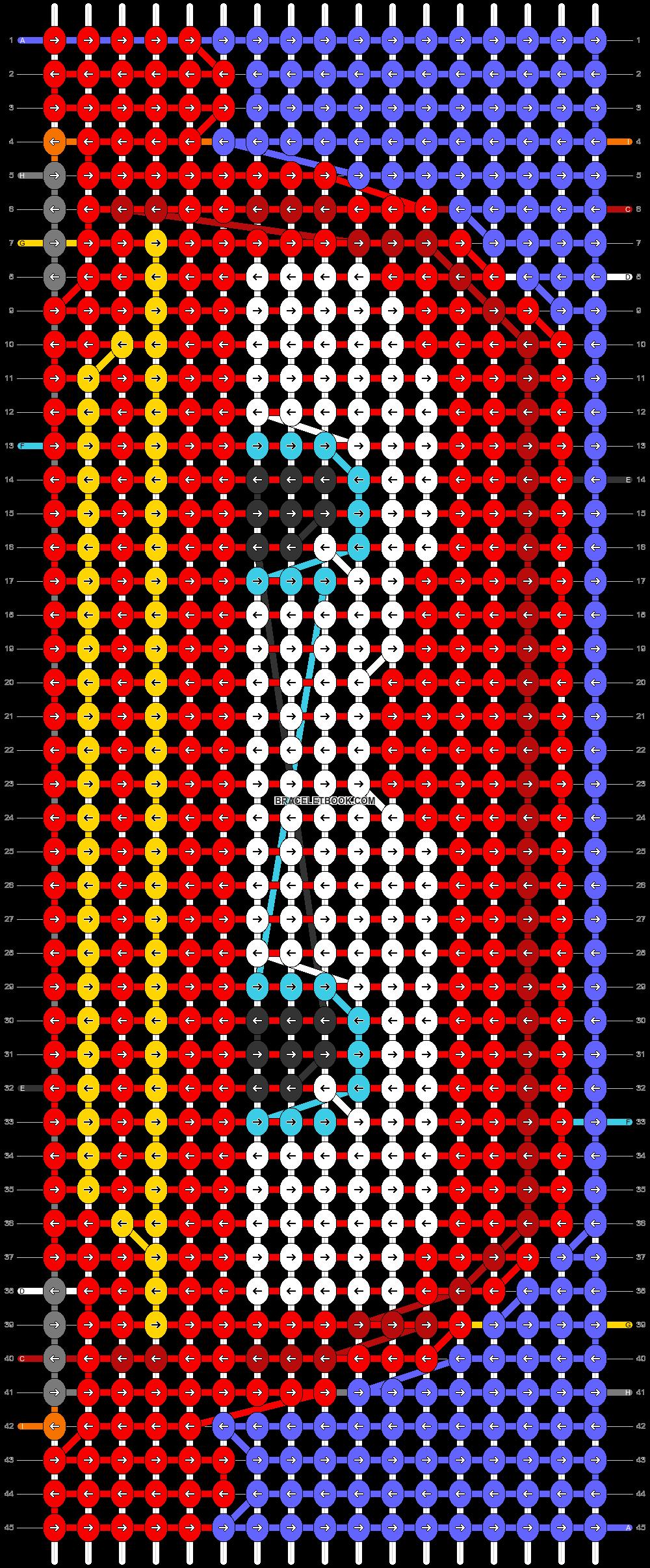 Alpha pattern #97718 pattern