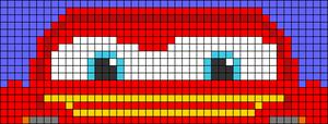 Alpha pattern #97718