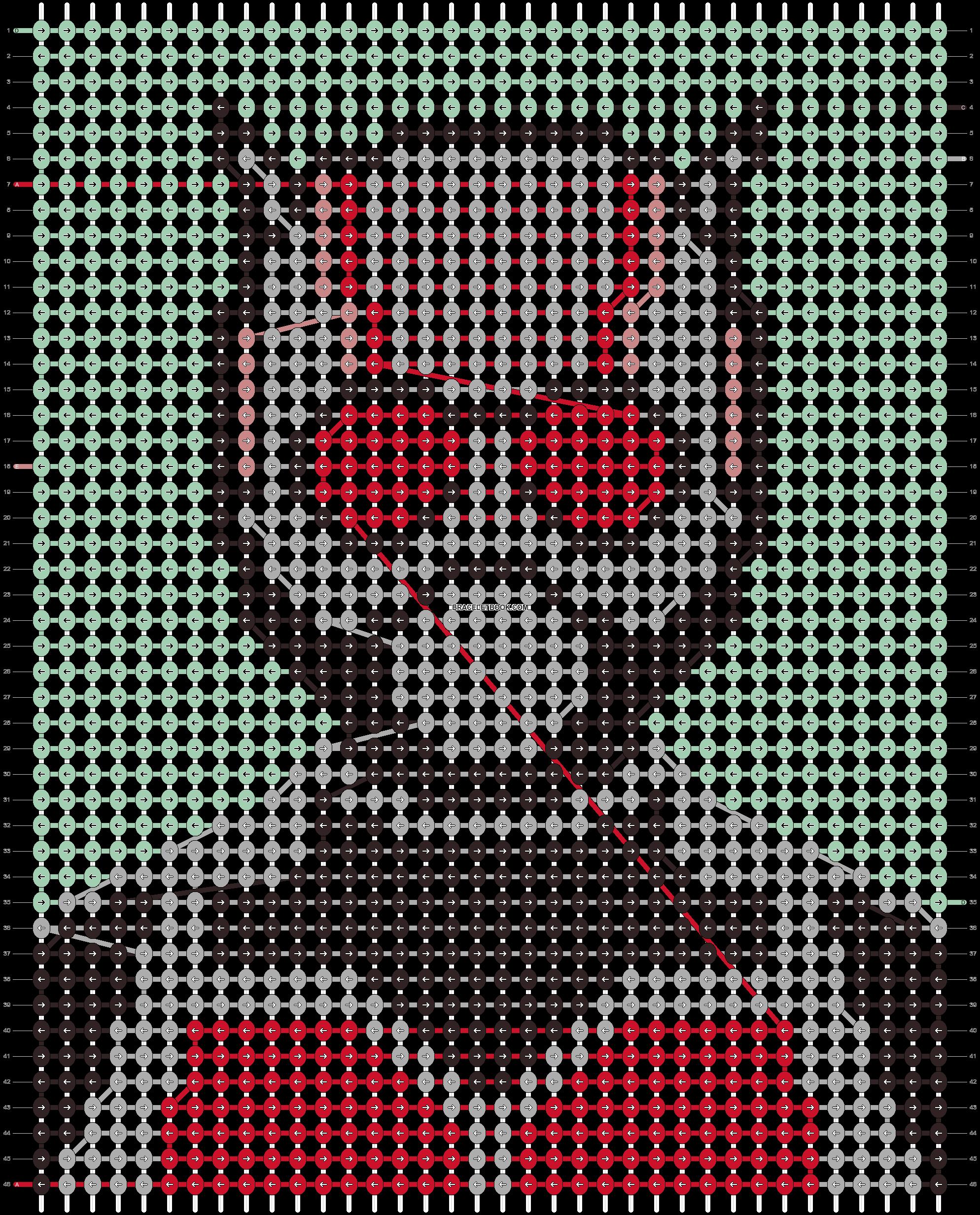 Alpha pattern #97740 pattern