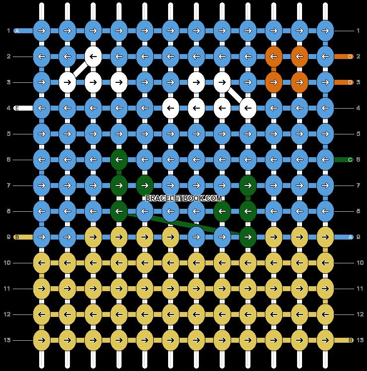 Alpha pattern #97766 pattern