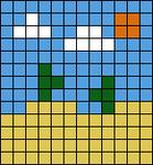 Alpha pattern #97766
