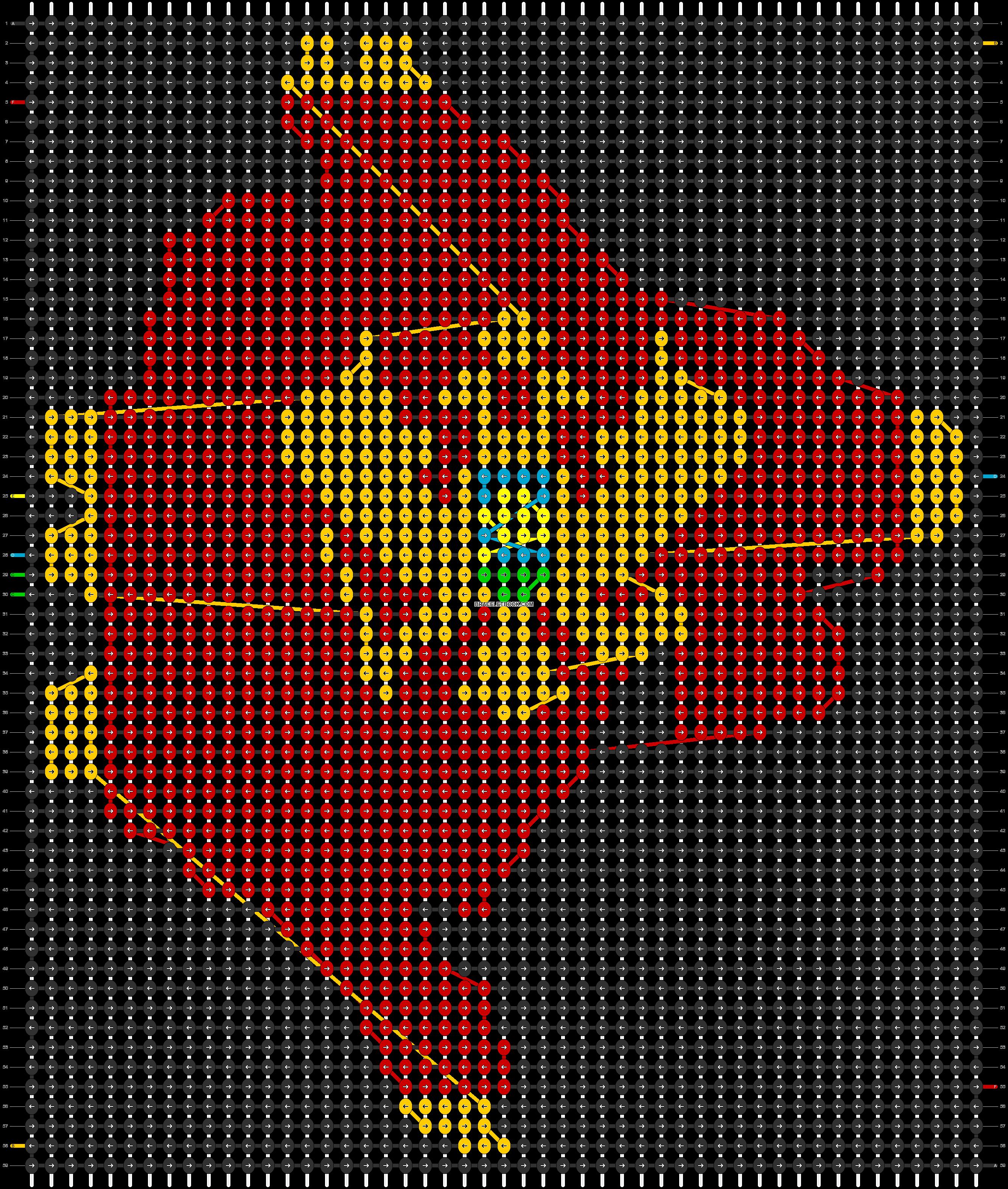 Alpha pattern #97773 pattern