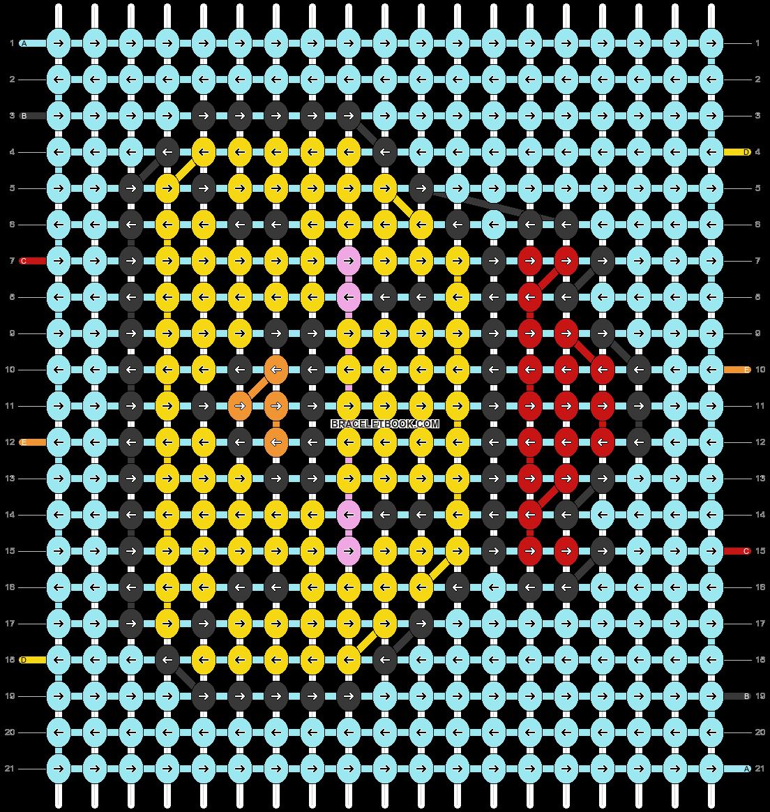 Alpha pattern #97789 pattern
