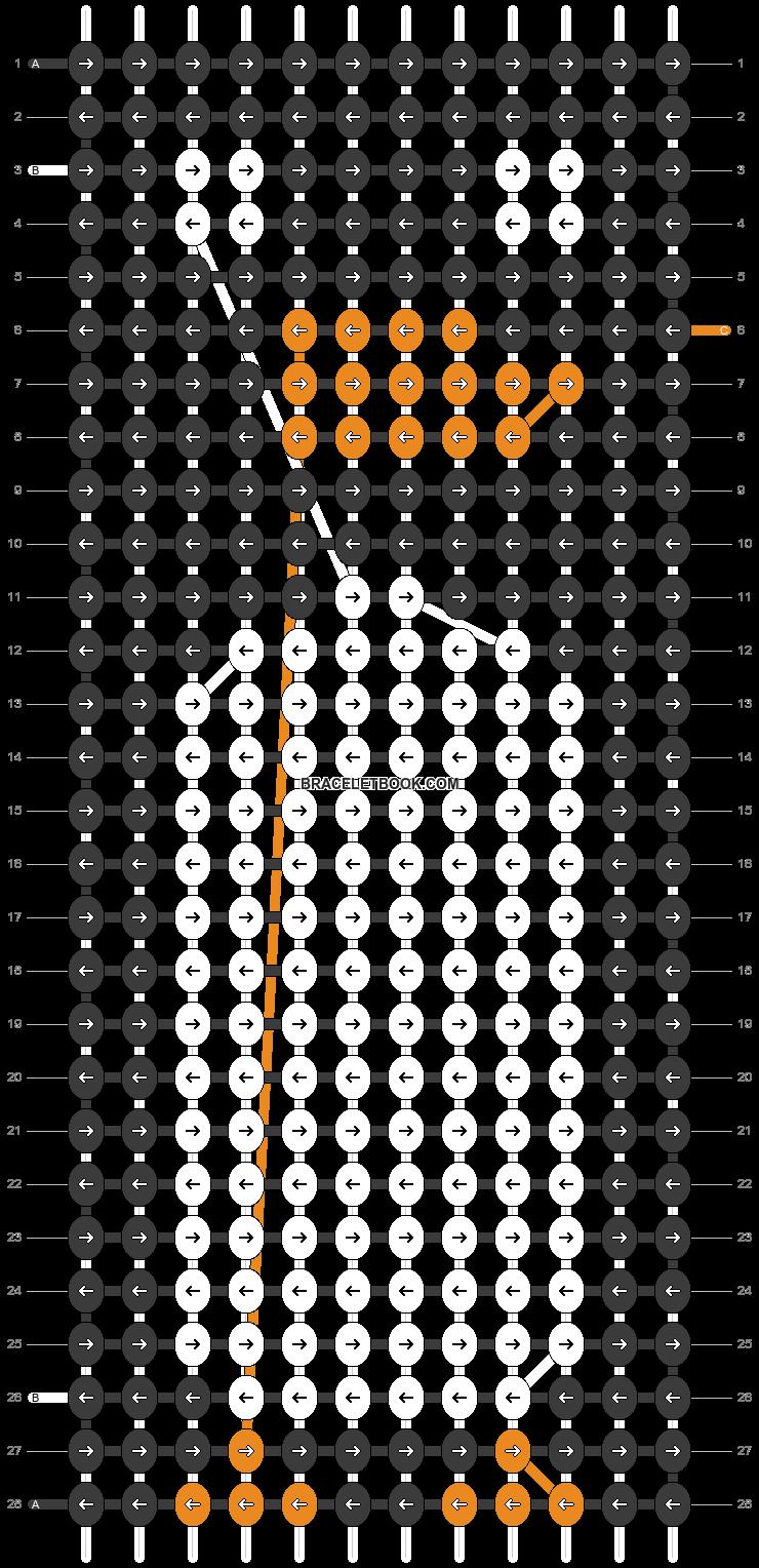 Alpha pattern #97810 pattern