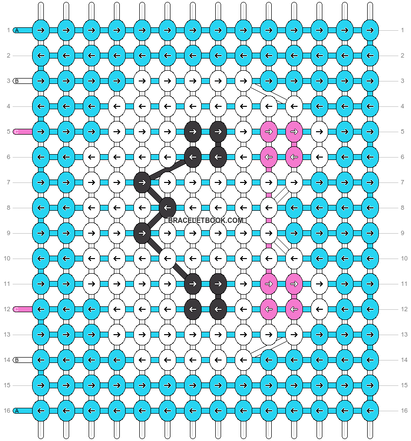 Alpha pattern #97811 pattern