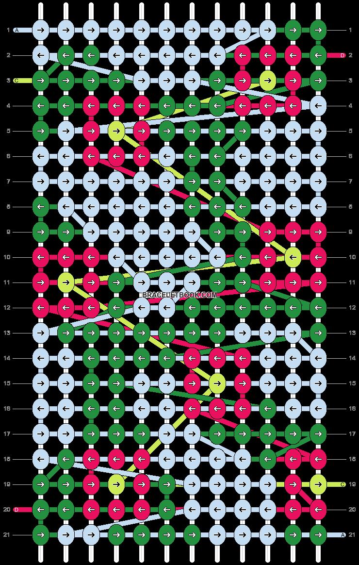 Alpha pattern #97813 pattern