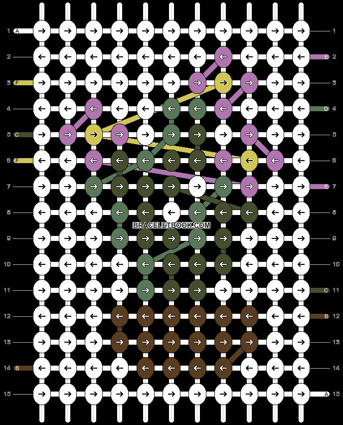 Alpha pattern #97814 pattern