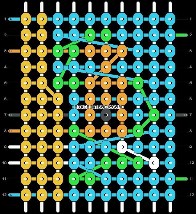 Alpha pattern #97816 pattern