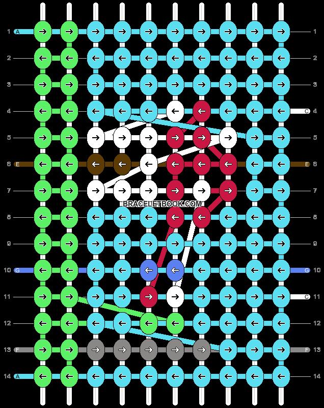 Alpha pattern #97817 pattern