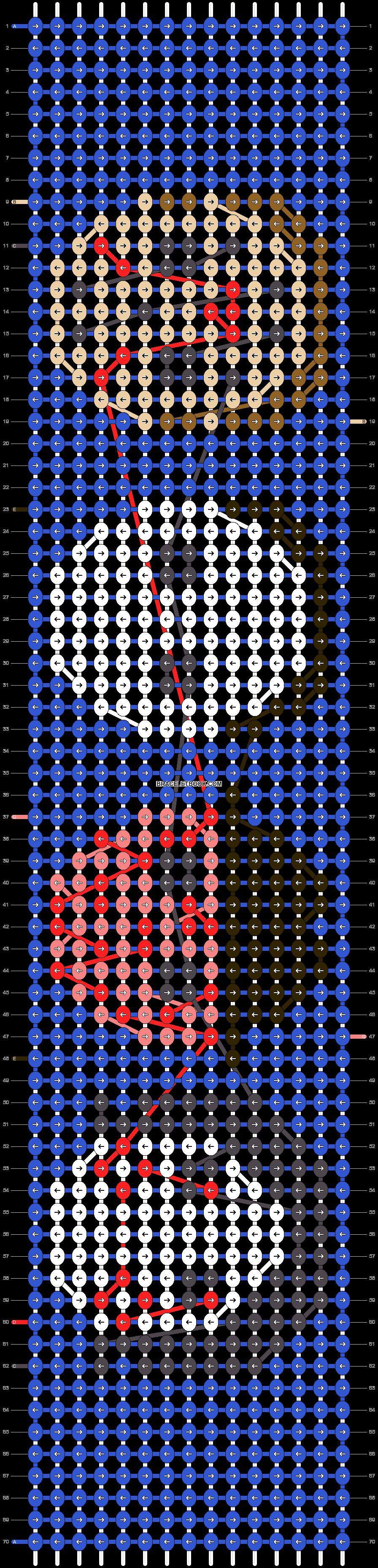 Alpha pattern #97822 pattern