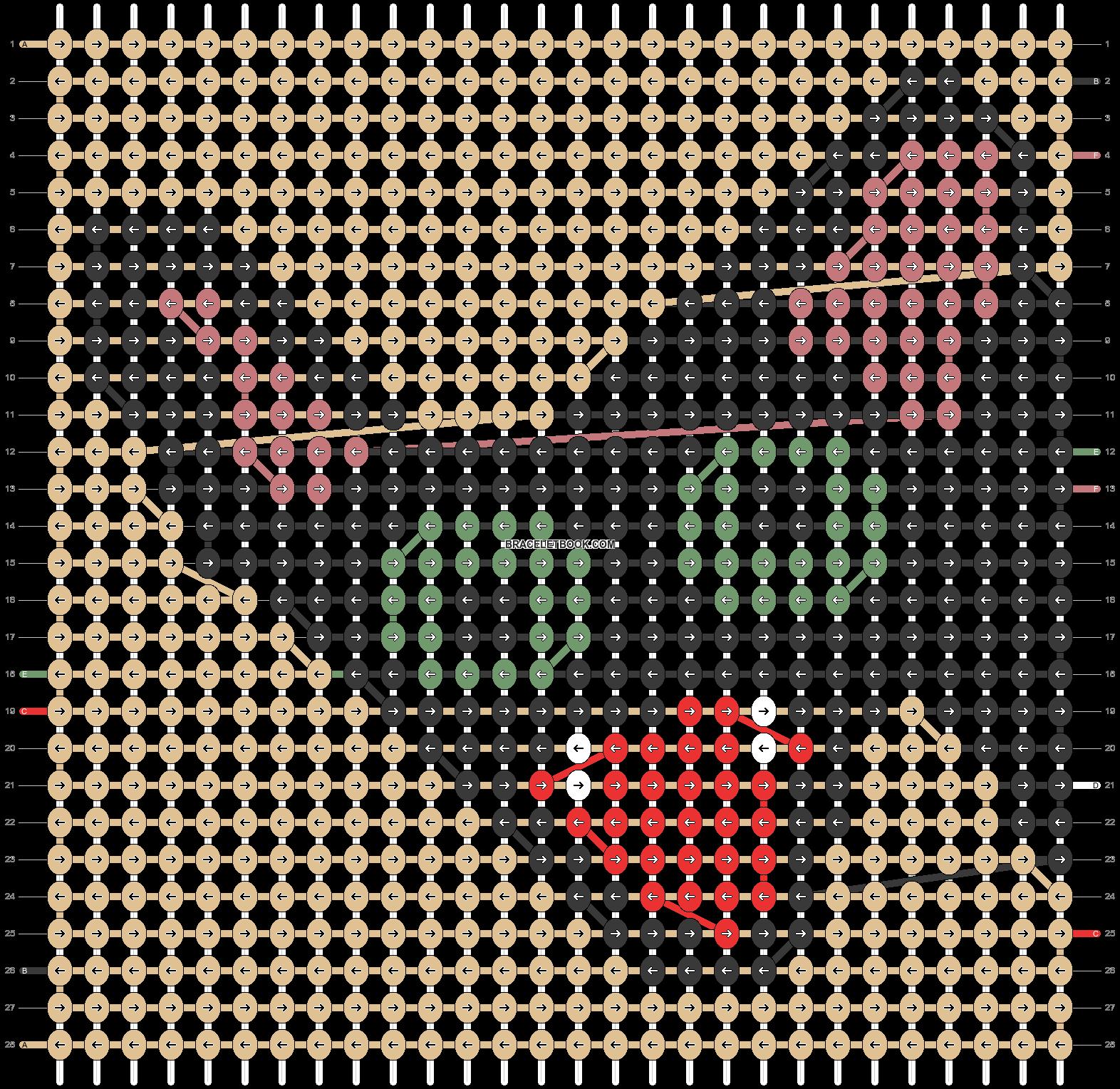Alpha pattern #97825 pattern