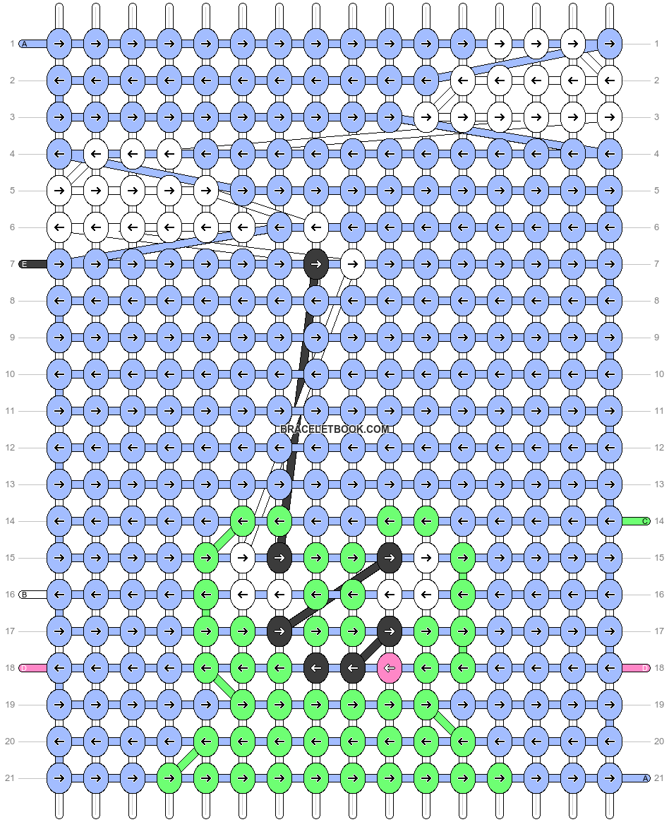 Alpha pattern #97826 pattern