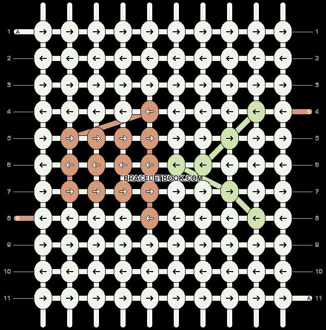 Alpha pattern #97840 pattern